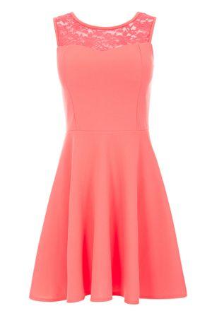 Laeticia Dreams Damen Kleid Mini mit Spitze und Schleife S M L – Bild 17