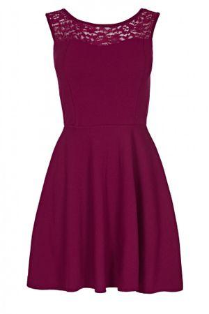 Laeticia Dreams Damen Kleid Mini mit Spitze und Schleife S M L – Bild 5