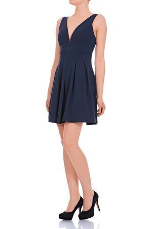 Laeticia Dreams Damen Kleid Mini V-Ausschnitt S M L – Bild 11