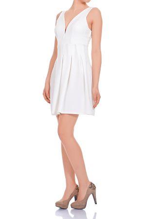 Laeticia Dreams Damen Kleid Mini V-Ausschnitt S M L – Bild 14