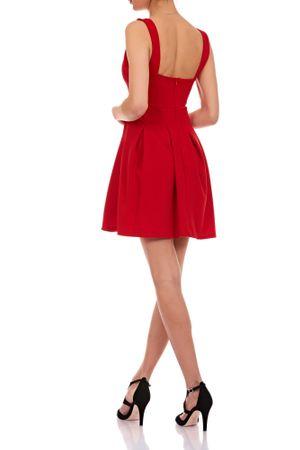 Laeticia Dreams Damen Kleid Mini V-Ausschnitt S M L – Bild 3