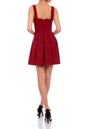 Laeticia Dreams Damen Kleid Mini V-Ausschnitt S M L – Bild 9