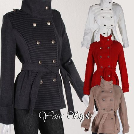 Laeticia Dreams Winterjacke im Military Stil – Bild 1