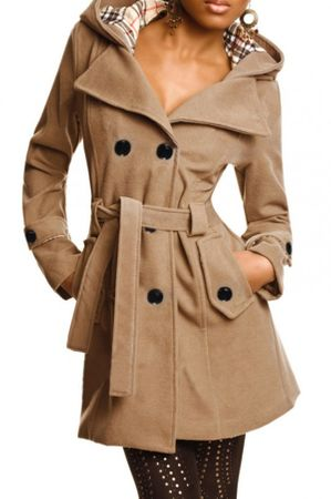 Laeticia Dreams Trenchcoat Winterjacke – Bild 2