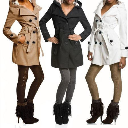Laeticia Dreams Trenchcoat Winterjacke