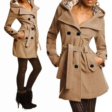 Laeticia Dreams Trenchcoat Winterjacke – Bild 3