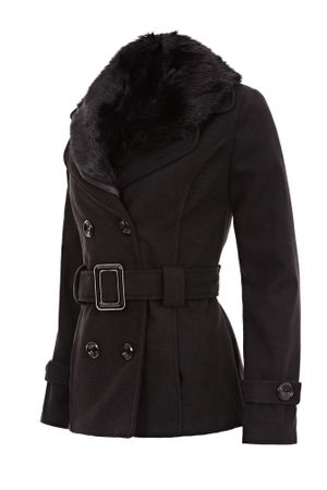 Laeticia Dreams Winterjacke mit Fellkragen – Bild 19
