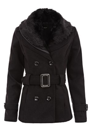 Laeticia Dreams Winterjacke mit Fellkragen – Bild 20