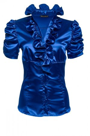 Laeticia Dreams Glanz-Bluse – Bild 10