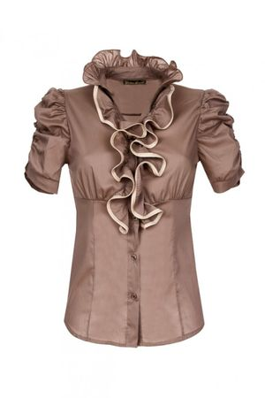 Laeticia Dreams Volant Bluse – Bild 7
