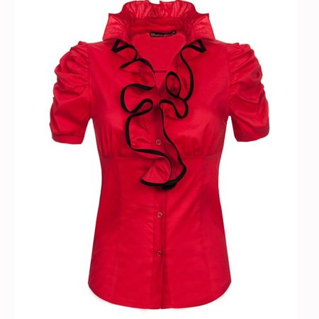 Laeticia Dreams Volant Bluse – Bild 2