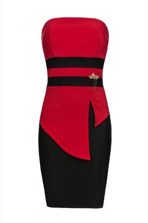 Laeticia Dreams Abendkleid mit Brosche – Bild 9