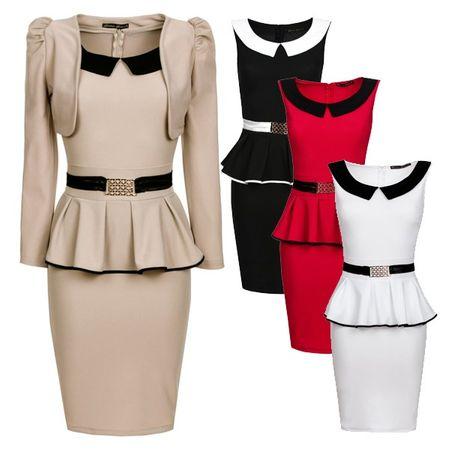 Laeticia Dreams Abendkleid mit Bolero (2 Teilig) – Bild 1