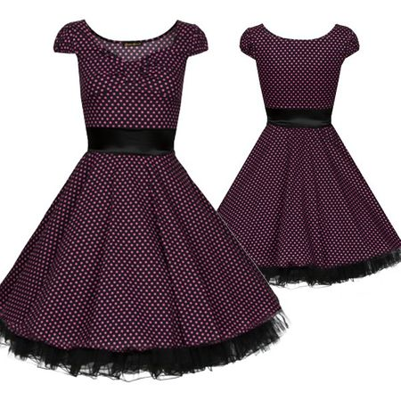 Laeticia Dreams Petticoat Kleid 50er – Bild 17