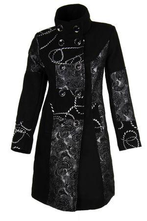 Laeticia Dreams Trenchcoat Mantel mit Kapuze oder Stehkragen – Bild 3