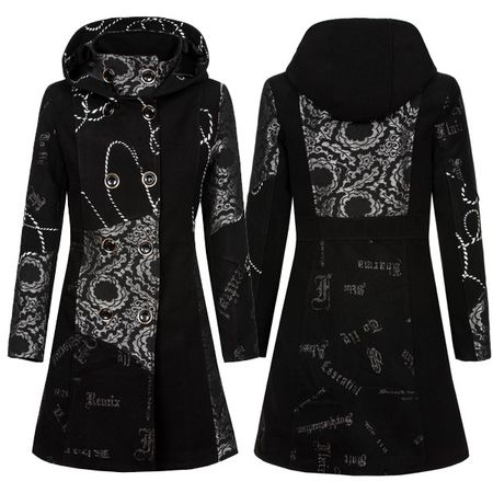 Laeticia Dreams Trenchcoat mit Kapuze – Bild 1