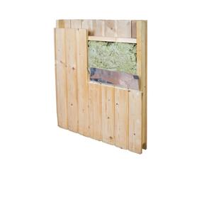 Saunabaumaterial