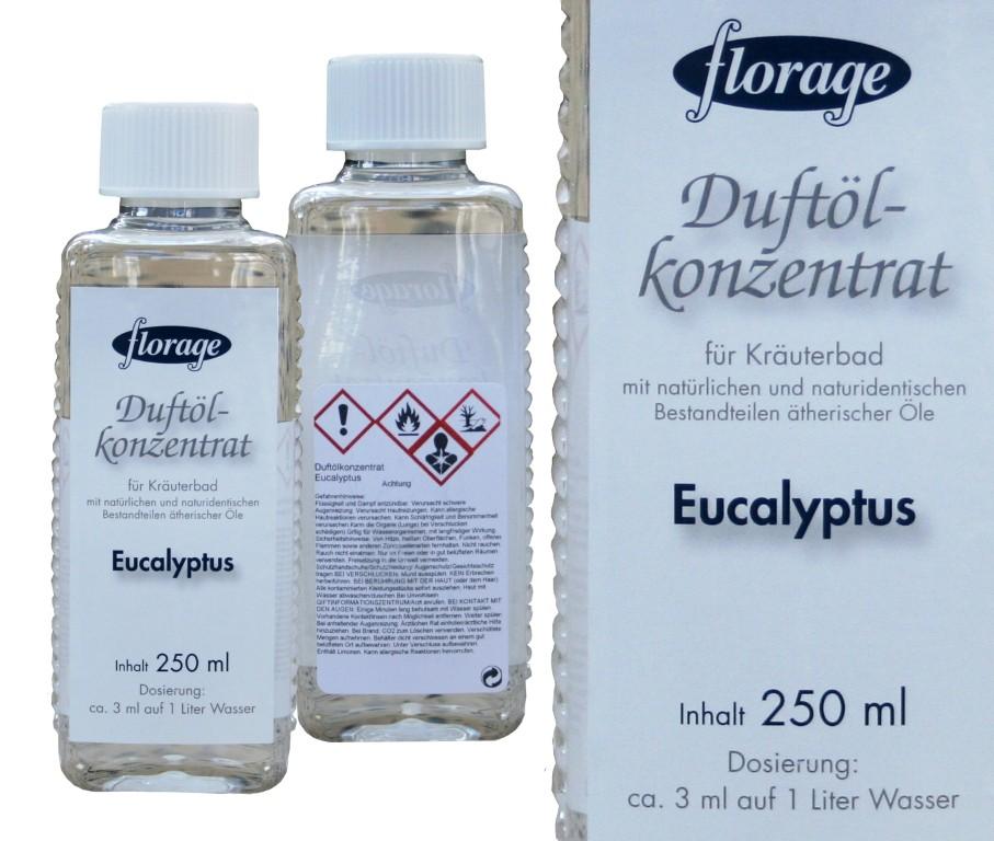 florage Duftölkonzentrat | 250 ml Eukalyptus
