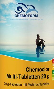 CHEMOFORM Chemoclor Multi-Tabletten 20g  /1kg