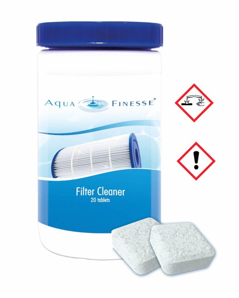 AquaFinesse Filter Cleaner 20 Tabletten