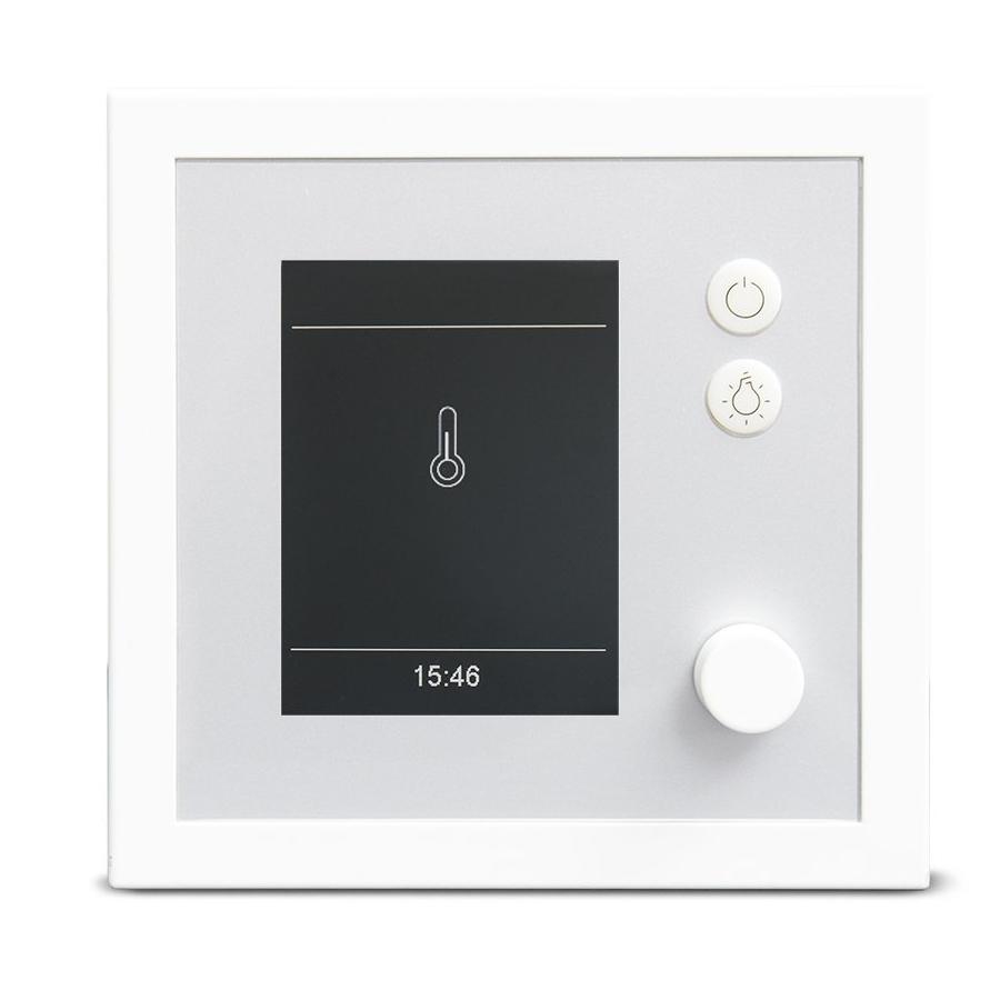 EOS EMOTEC H Saunasteuergerät Weiß / Silber