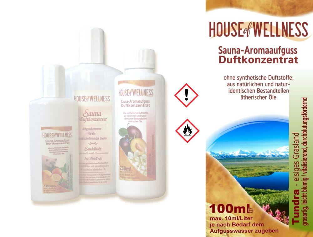 HoW Saunaduft Aufgusskonzentrat 100 ml | Tundra