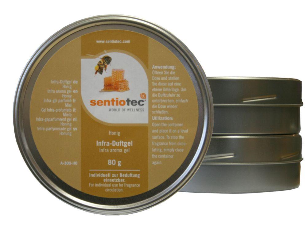 Infra Duftgel Raumdurf   80 g Honig