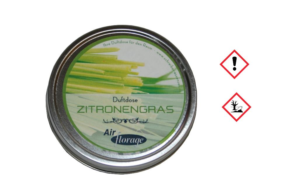 Air florage Duftgel Raumduft | 20 g Zitronengras