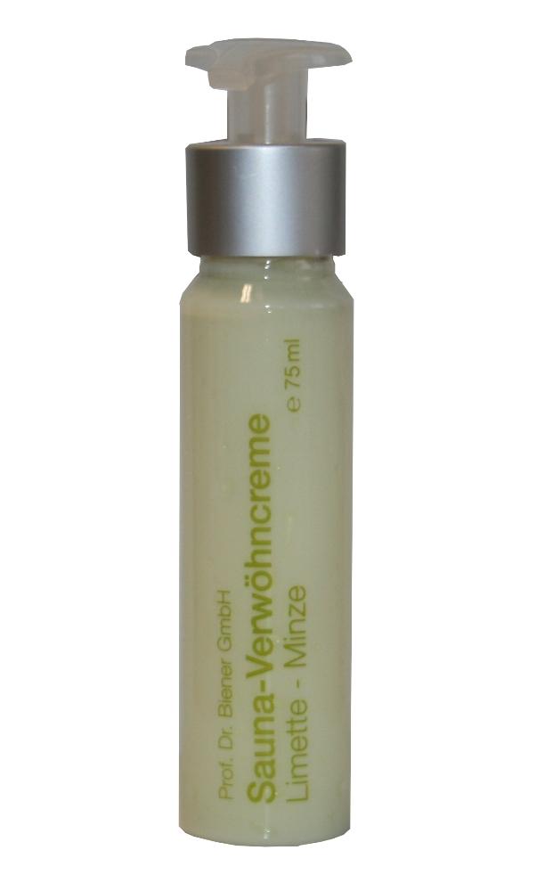 Sauna Verwöhncreme | 75 ml Limette-Minze