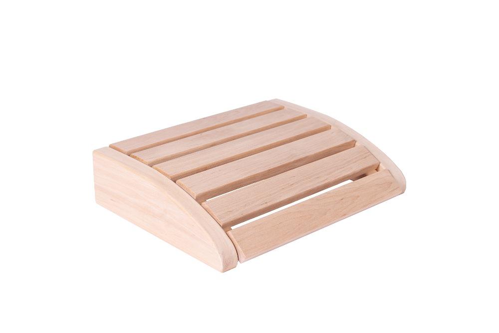 Sauna Kopfstütze klein Erle