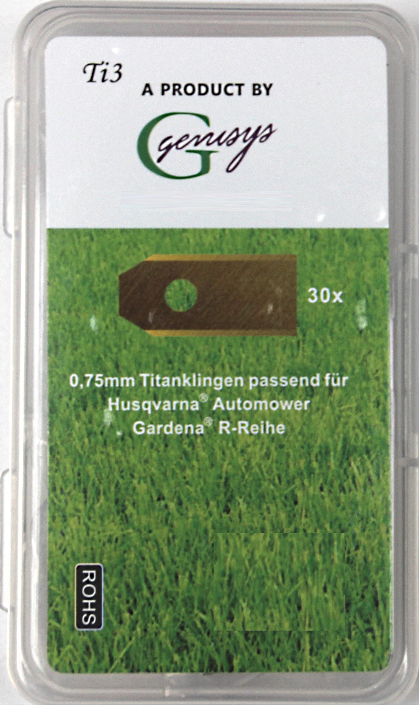 60 Messer Klingen LongLife Ersatzmesser f Husqvarna Automower Gardena Mähroboter