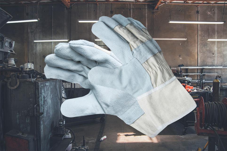 Arbeitshandschuh mit Canvas-Schutz