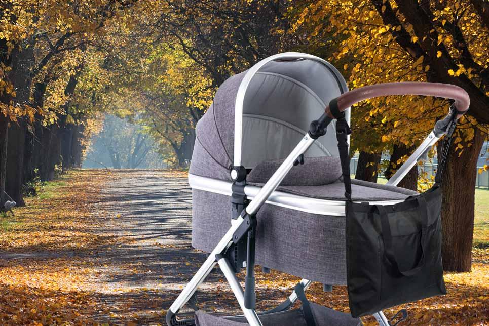 Kinderwagen-tasche Baby-tasche Kinderwagen-Organizer Buggy-tasche Wickel-tasche Hänge-tasche