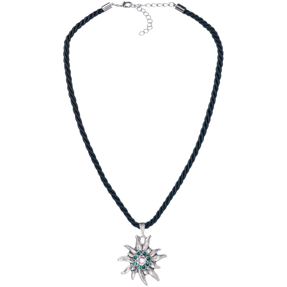 Halskette mit Edelweißanhänger von Schlick Accessoires