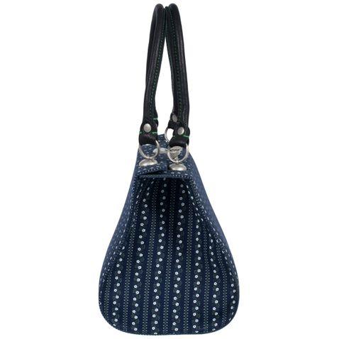 Süße Trachtentasche zum Dirndl in Blau von Almsach
