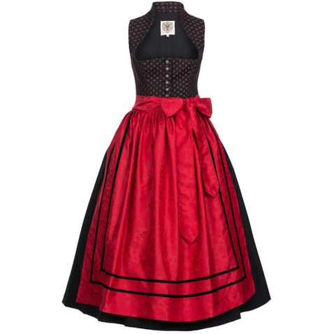 Langes Dirndl Fine in Schwarz von der Marke Apple of my Eye