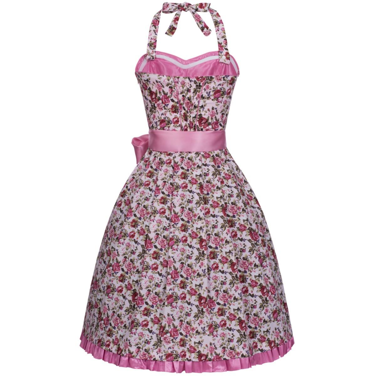 Mini bandeau dirndl kendra in rosa von marjo trachten ebay for Trachten finest