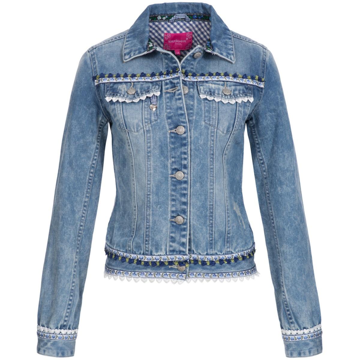 Jeansjacke in Blau von Krüger