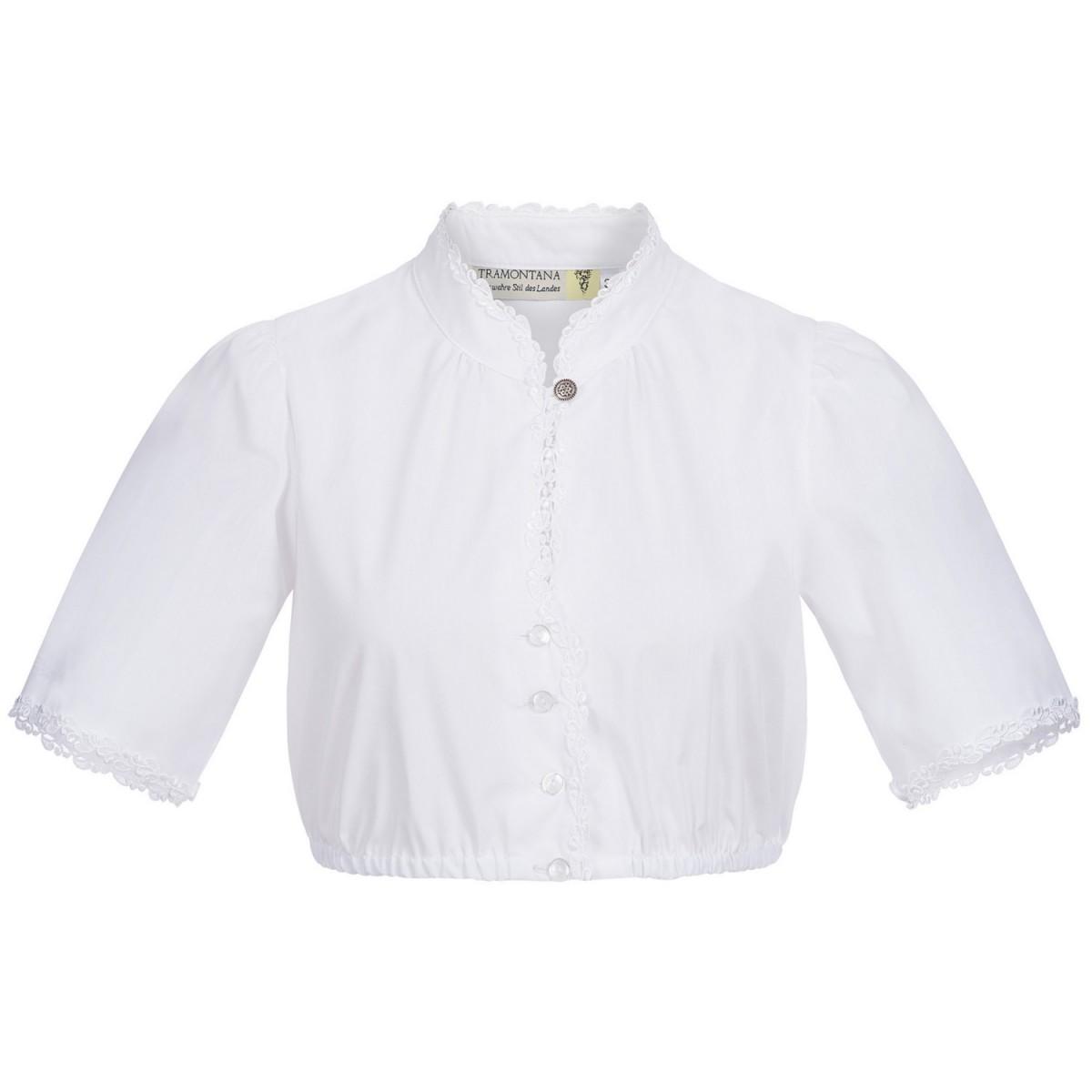 Dirndlbluse Melinda in Weiß von Tramontana günstig online kaufen