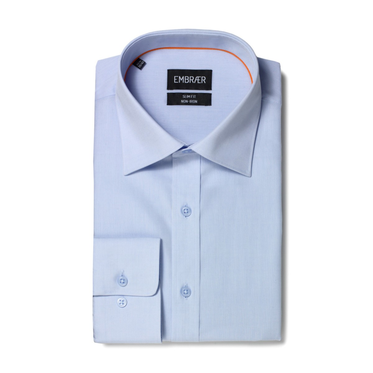the latest 9be6e 8709c Business Hemd Slim Fit in Hellblau von Embraer
