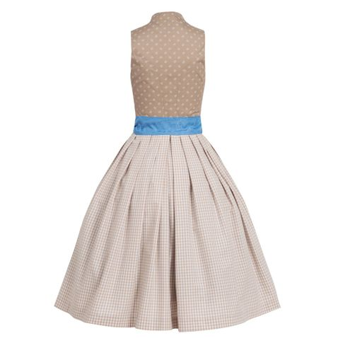 Langes Dirndl Loni in Beige von Apple of my Eye