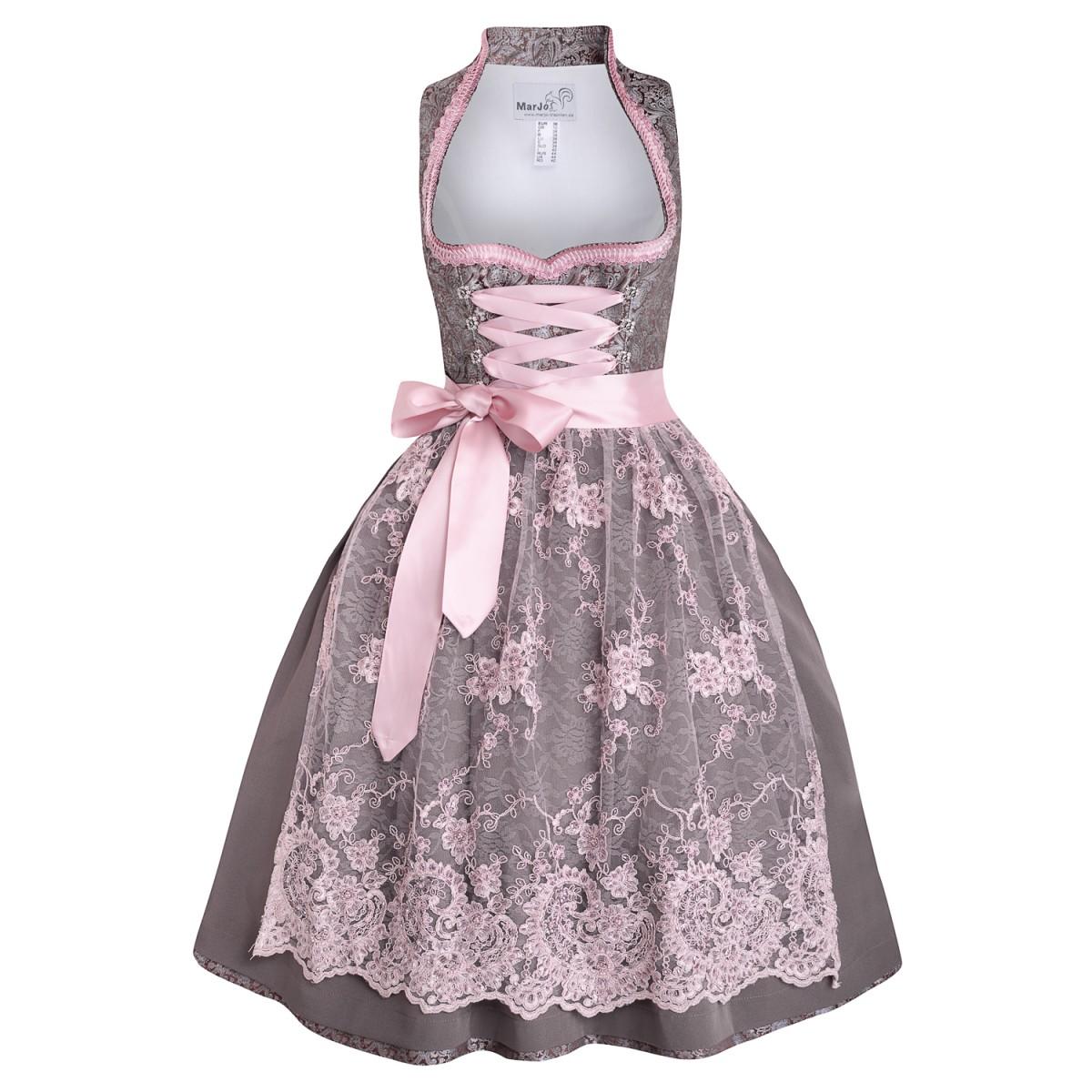 Midi dirndl rosalita in braun von marjo trachten ebay - Trachten finest ...