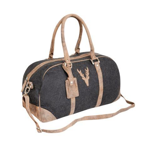 Handliche Trachtentasche zum Dirndl in Anthrazit von Country Line