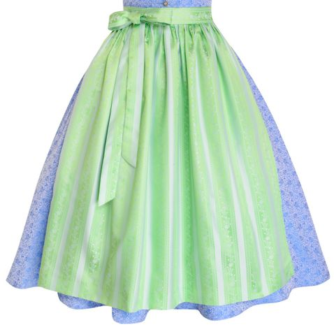 Midi Dirndl Everl in Hellblau von Apple of my Eye