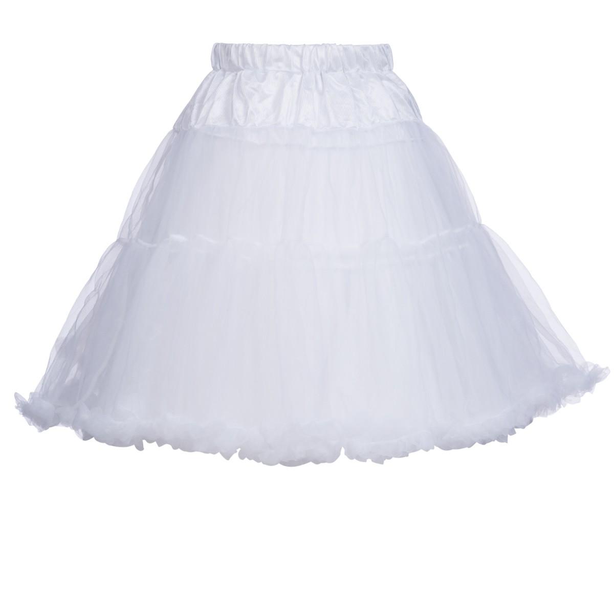 Petticoat in Weiß von Marjo Trachten 55cm