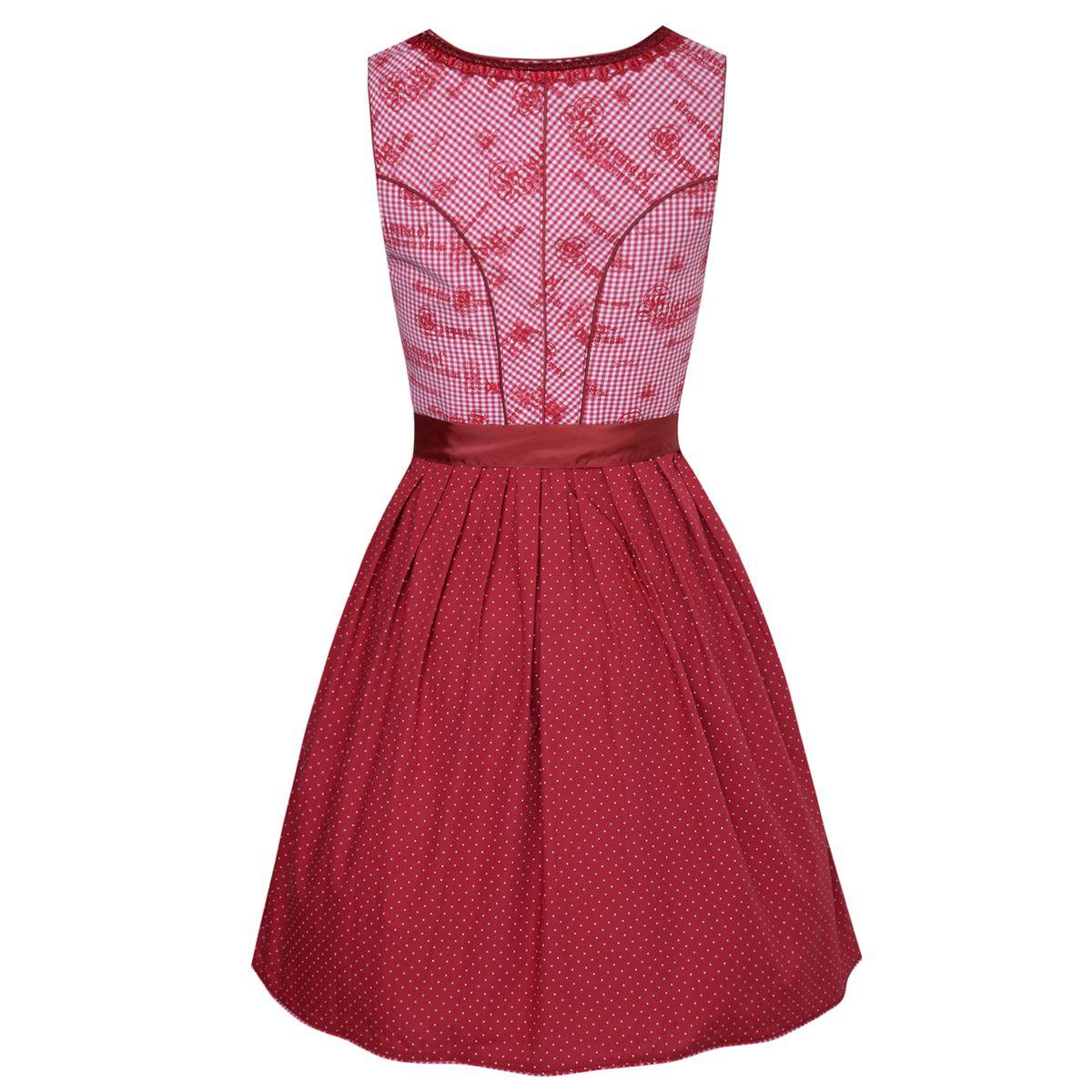 Mini dirndl morina in rot von marjo trachten ebay for Trachten finest