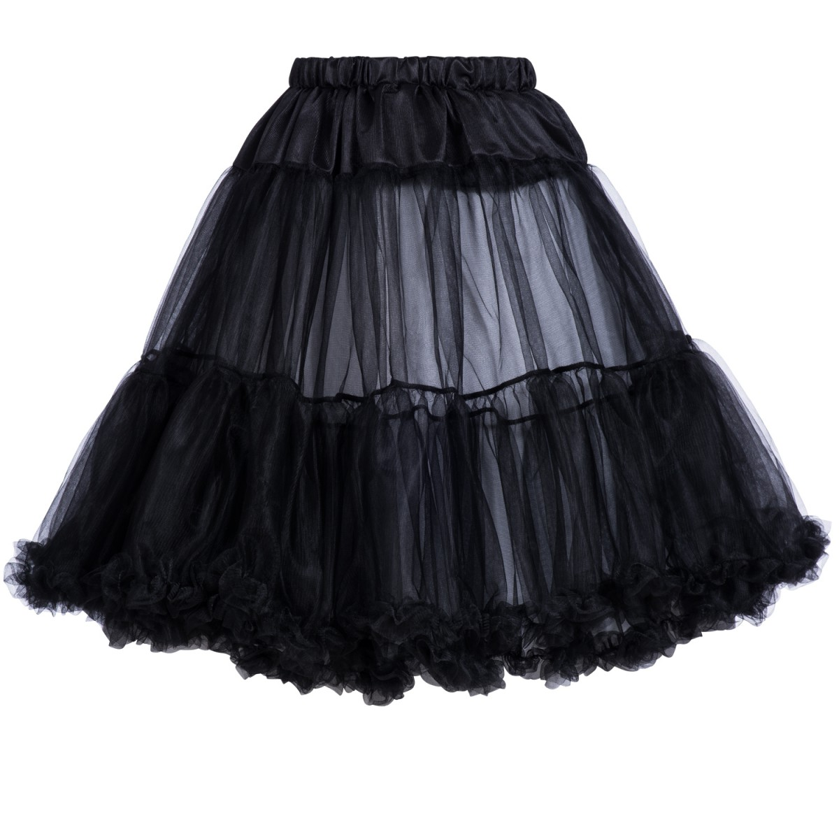 Petticoat in Schwarz von Marjo Trachten 65cm günstig online kaufen