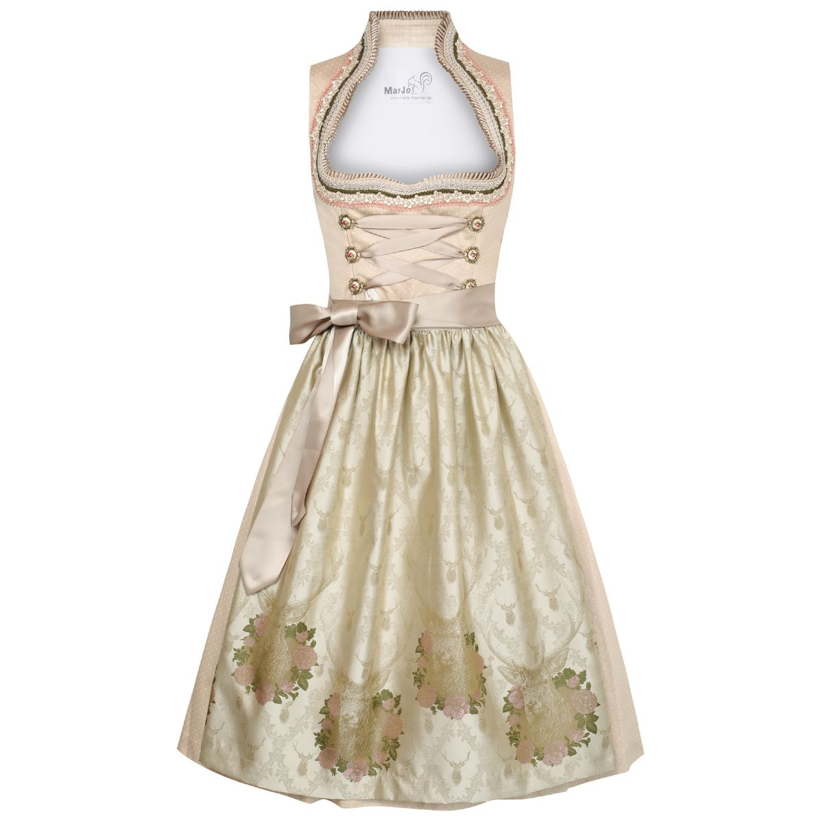 beiges Dirndl Claude
