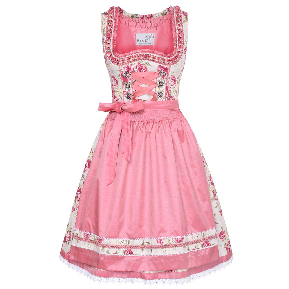 midi dirndl tangie in rosa von marjo trachten damen dirndl midi dirndl. Black Bedroom Furniture Sets. Home Design Ideas