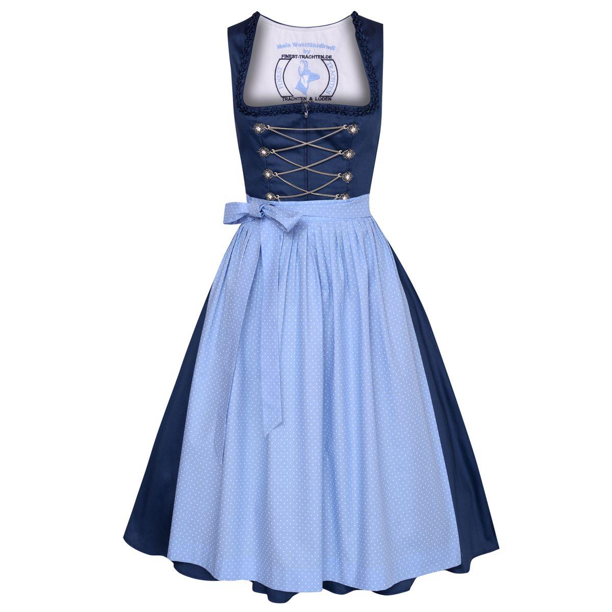 blaues Dirndl Filomena